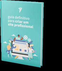 Mockup eBook Guia Definitivo para Criar um Site Profissional